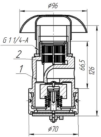 клапан схема